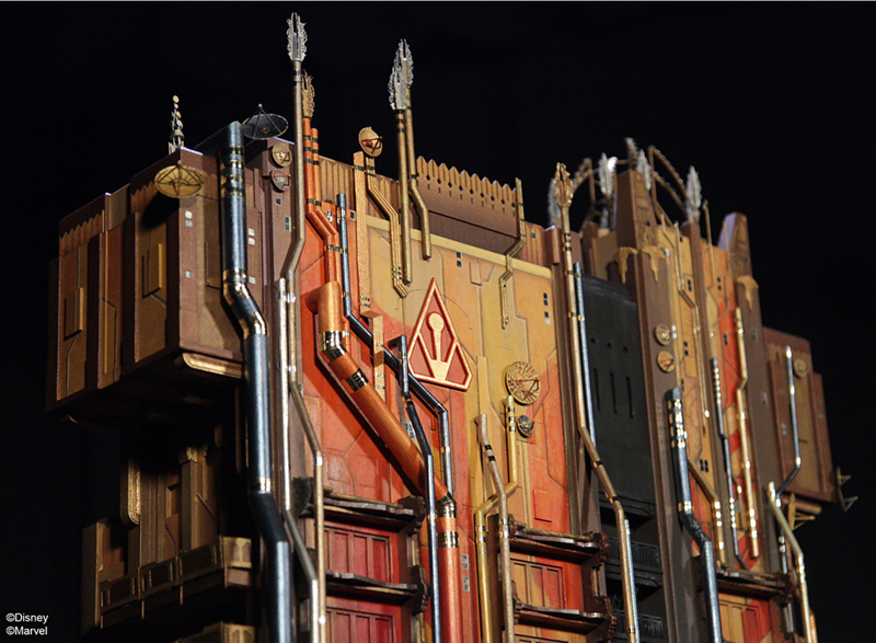First look at Collector's Fortress for new MISSION: BREAKOUT! attraction to replace Tower of Terror