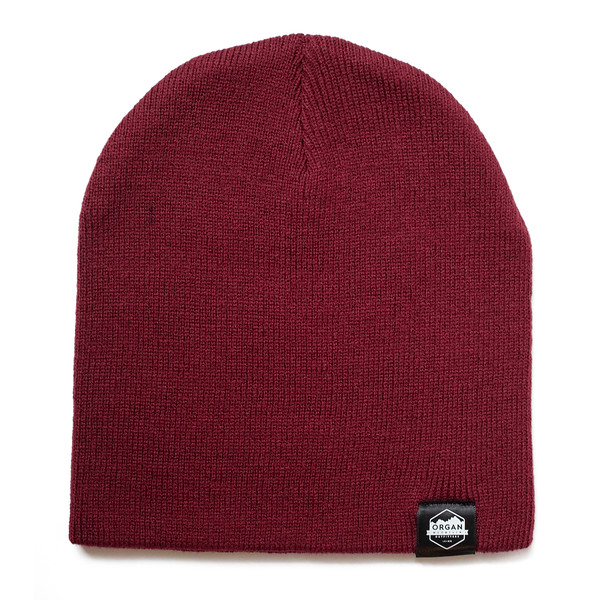 Outdoor Apparel - Organ Mountain Outfitters - Hat - 8 Inch Knit Beanie - Cardinal.jpg