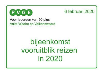 2020-0206 PVGE vooruitblik reizen