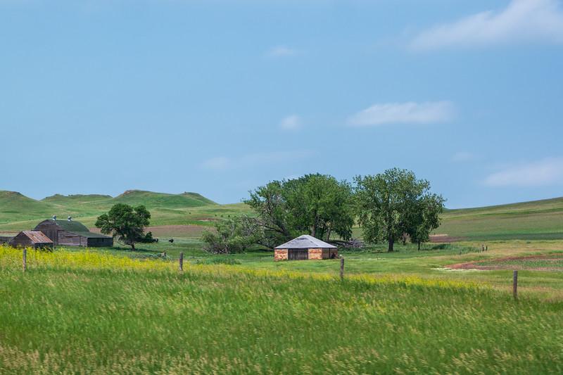 North Dakota Barn