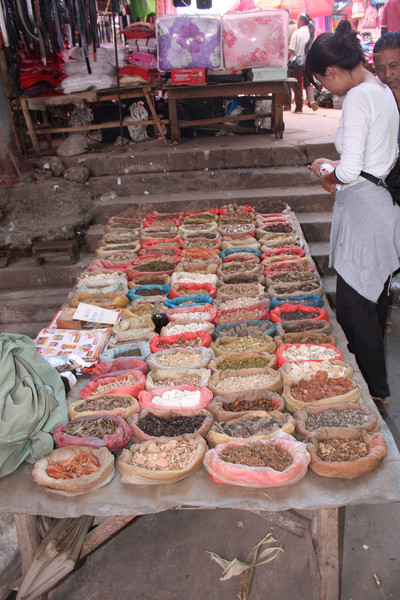 Ganlanba, market, Chinese medicine for sale