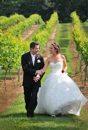 C.J. and Becky / Running Hare Vinyard