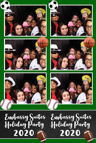 Embassy Suites Holiday Party (01/16/20)