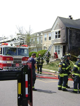 Parker Town House Fire