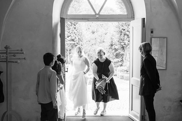Bryllup: Pia og Brian