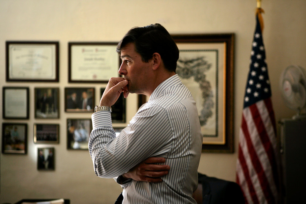 ". Kyle Chandler plays CIA\'s top man in Pakistan in ""Zero Dark Thirty.\"" Provided by Columbia Pictures."