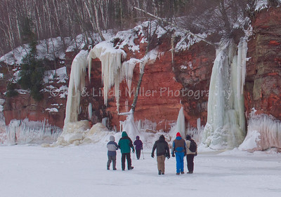 Mainland Ice Caves on Lake Superior