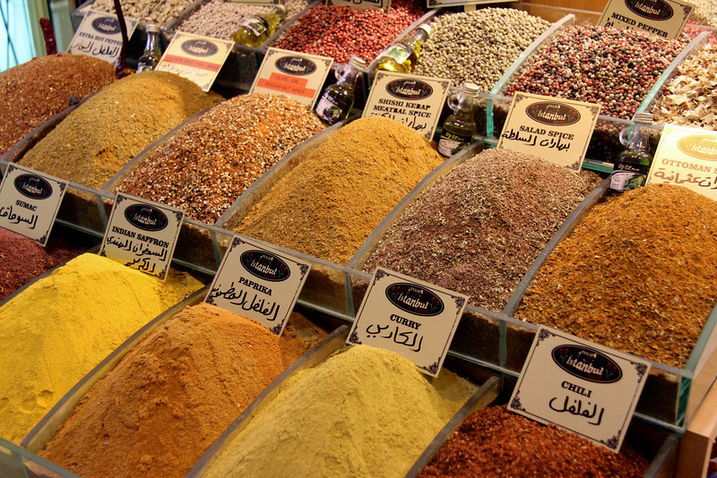 Spices at Grand Bazaar