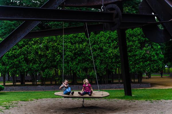 Minneapolis- Sculpture Garden 2013