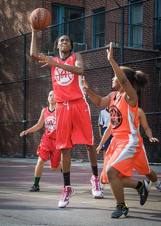 27 - Big East Ballers (Red) 95 v Lady Ballers (Orange) 62
