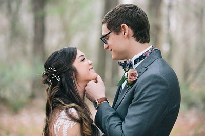 Spring Wedding at Northwest River Park in Chesapeake, VA and Shifting Sands in Virginia Beach, VA