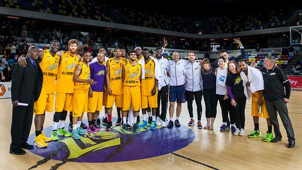 London Lions Playoffs Quarterfinals 2015