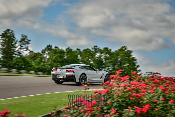 Corvette Grand Sport White #19