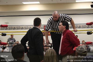 NECW  8/18/12 - Johnny Thunder vs Sean Burke
