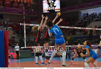 06.01.16 • Italy - Belgium | Pool B #RoadToRio #Women