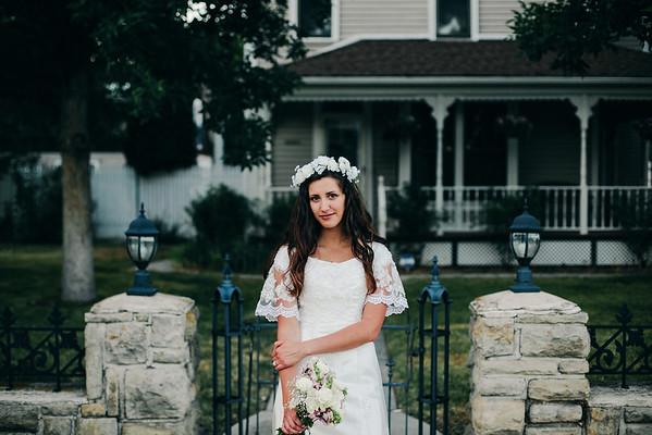 lily+jaren \\ bridals