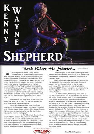 Blues Music Magazine - Article