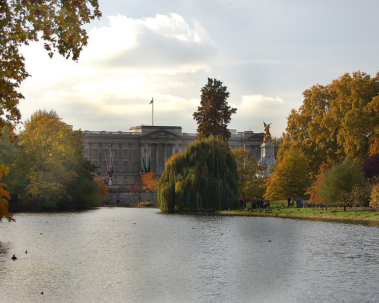 Buckingham Palace and St. James's Park