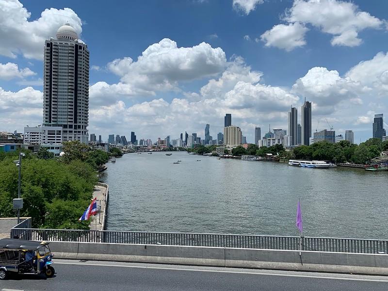 Chao Phraya River viewed from Chao Phraya Sky Park