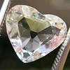 2.19ct Heart Portrait Cut Diamond, GIA J SI1 10