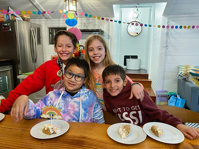 Bennett's 9th Birthday