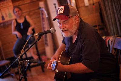 Jon Dee Graham at Saxapahaw, NC June 20 2015