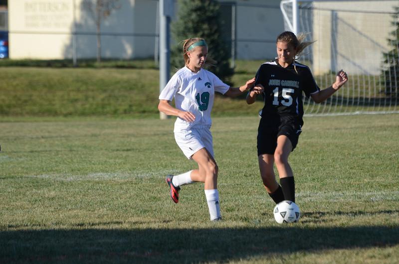 Girls JV Soccer September 13 vs John Carroll