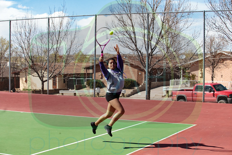 MHS vs Grants Girls Tennis 3-30-17