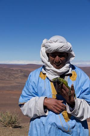 Route N9 from Ouarzazate to Zagora