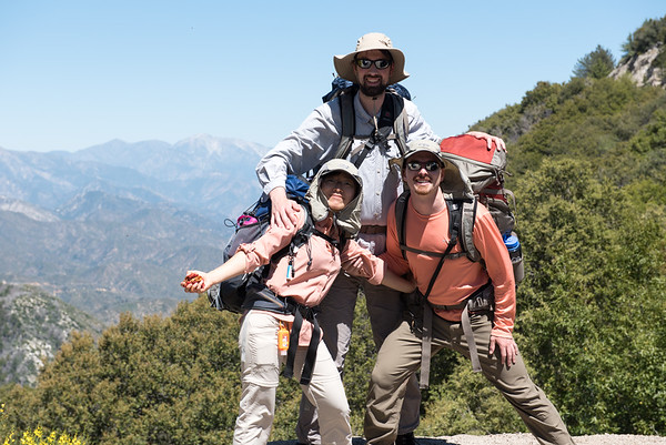 2017.05.20 Angeles Forest Hike with Briana, Devin