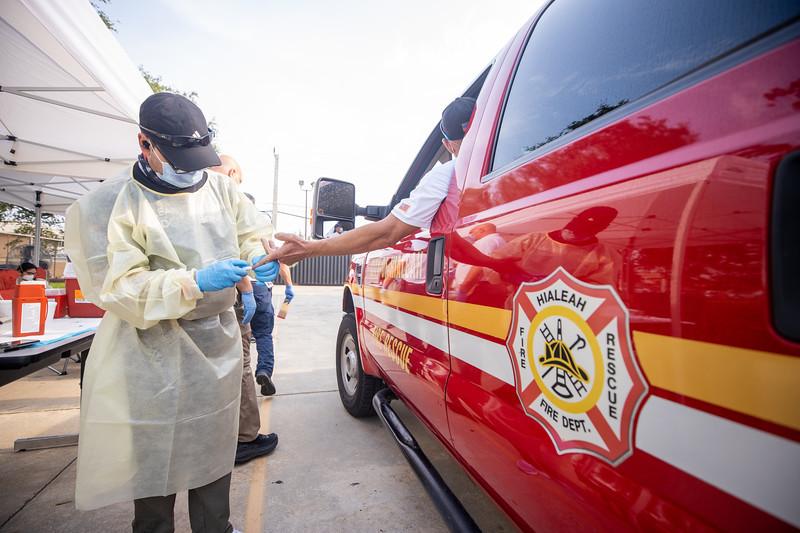 April 16, 2020 Gordon Center COVID Testing Hialeah Fire-105.jpg