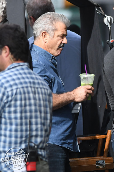 Dragged Across Concrete Filming with Mel Gibson and Vince Vaughn