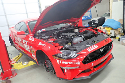 Ohlins Install S550 Mustang GT