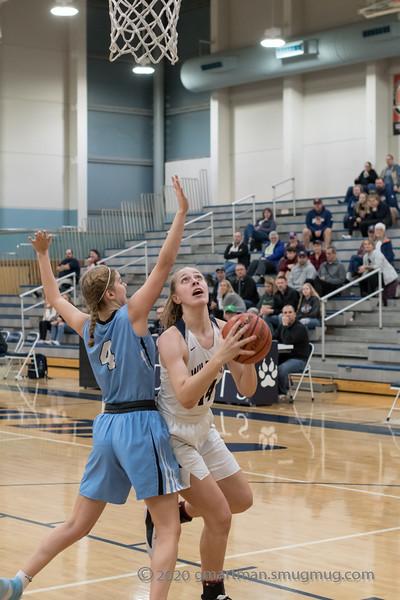 2020 Girls Varsity Basketball vs Corvallis