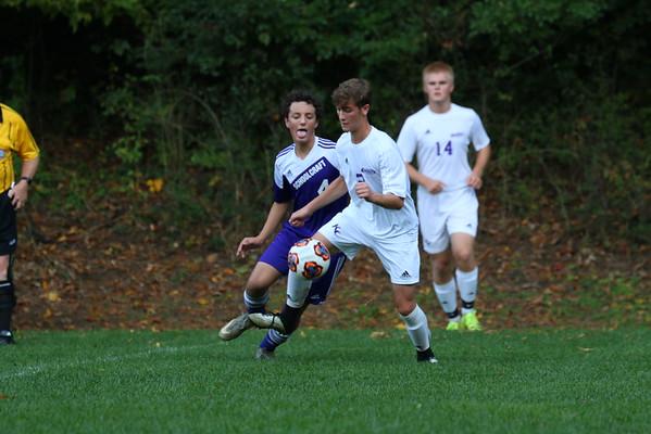 Soccer Boys Districts vs. Schoolcraft - KCHS - 10/17/16