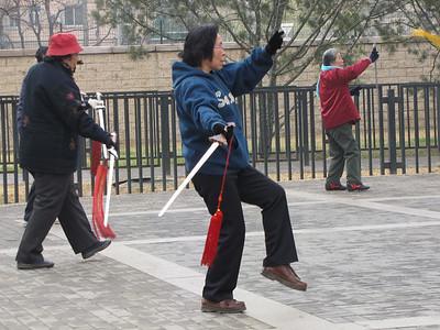 Xin Yuan Li Park and morning market (2008)