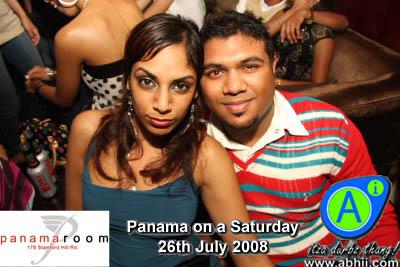 Panama Room - 26th July 2008