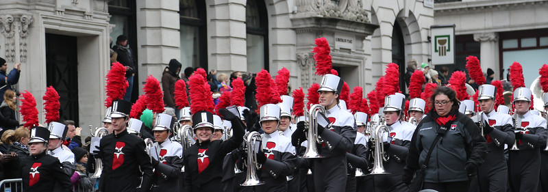 London New Year's Day parade 2015