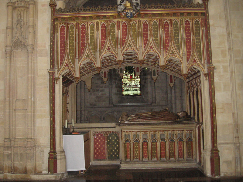 Tomb of James Goldwell, Bishop o fNorwick 1472-1499--Norwich Cathedral