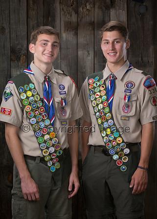Hoppa Eagle Scouts