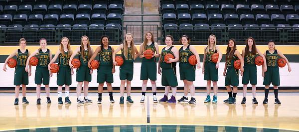 JH Girls Basketball Team Photos