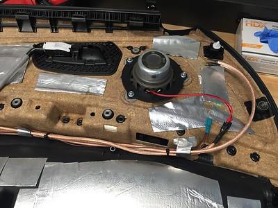 2009 BMW 335i xDrive Sedan Front Door Speaker Installation- USA