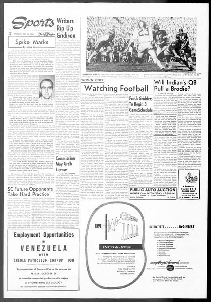 Daily Trojan, Vol. 48, No. 25, October 25, 1956