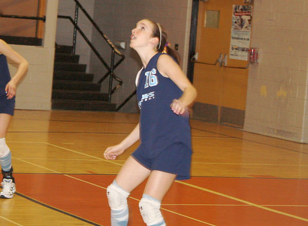 Jr. High (7th grade) Volleyball 2008-09