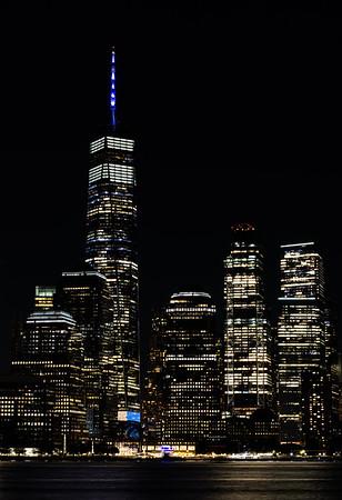 911 Tribute Lights (9/11/2021)