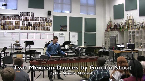 Spring Percussion Concert Videos
