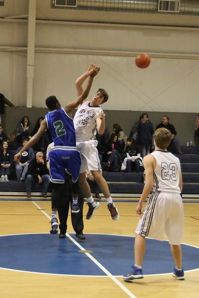 Varsity Boys Basketball at Longview Christian 2.6.15