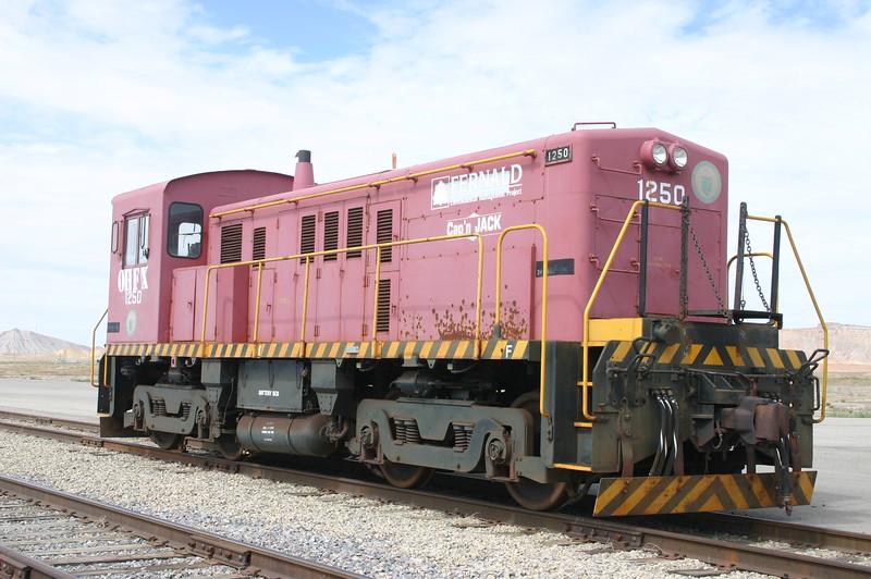 OHFX 1250 at Crescent Junction, Utah. September 2012. (Bob Lehmuth Photo)