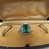 2.57ct Colombian Emerald Halo Ring, AGL-certified 21