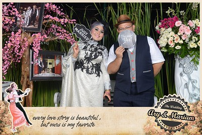 Ary dan Mariam Wedding Photobooth Gallery